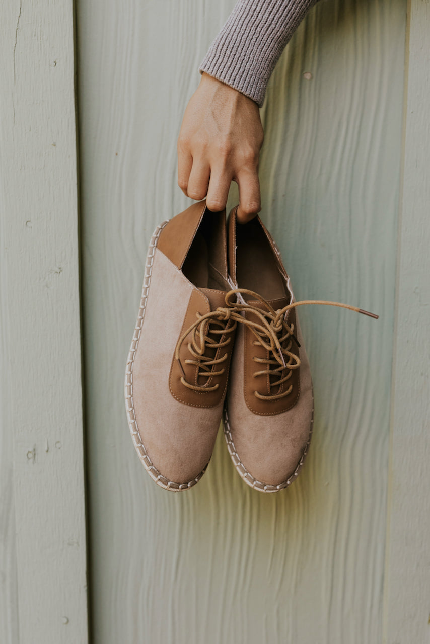 Neutral tone loafers | ROOLEE