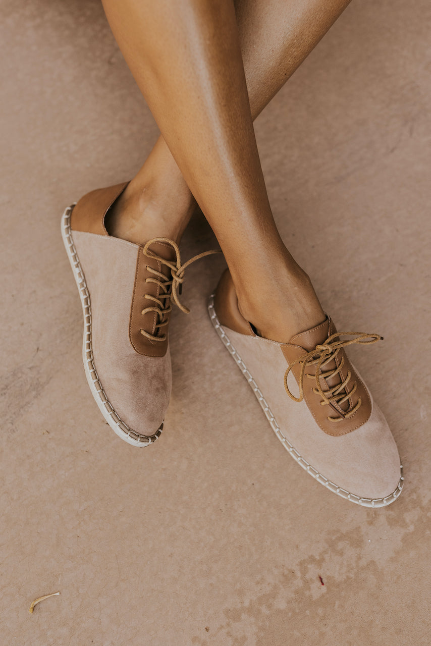 Neutral casual fall shoes | ROOLEE
