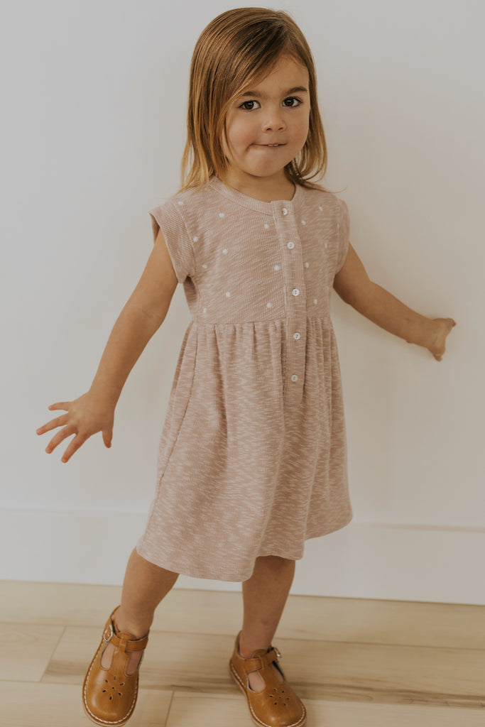 Spring kids short sleeve dresses | ROOLEE