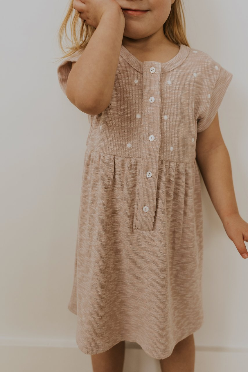 Neutral little girls spring dresses | ROOLEE