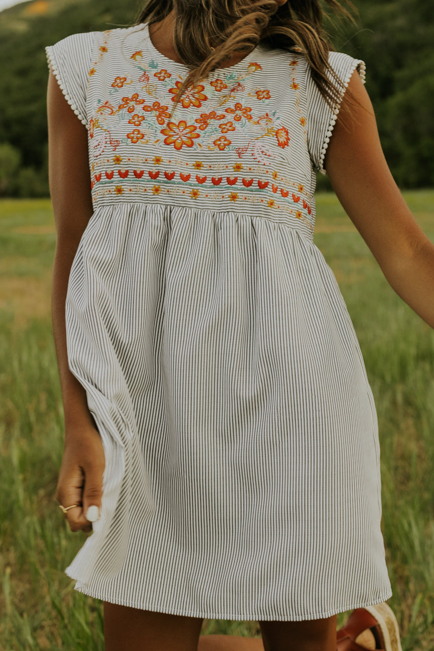 Coretta Embroidered Dress