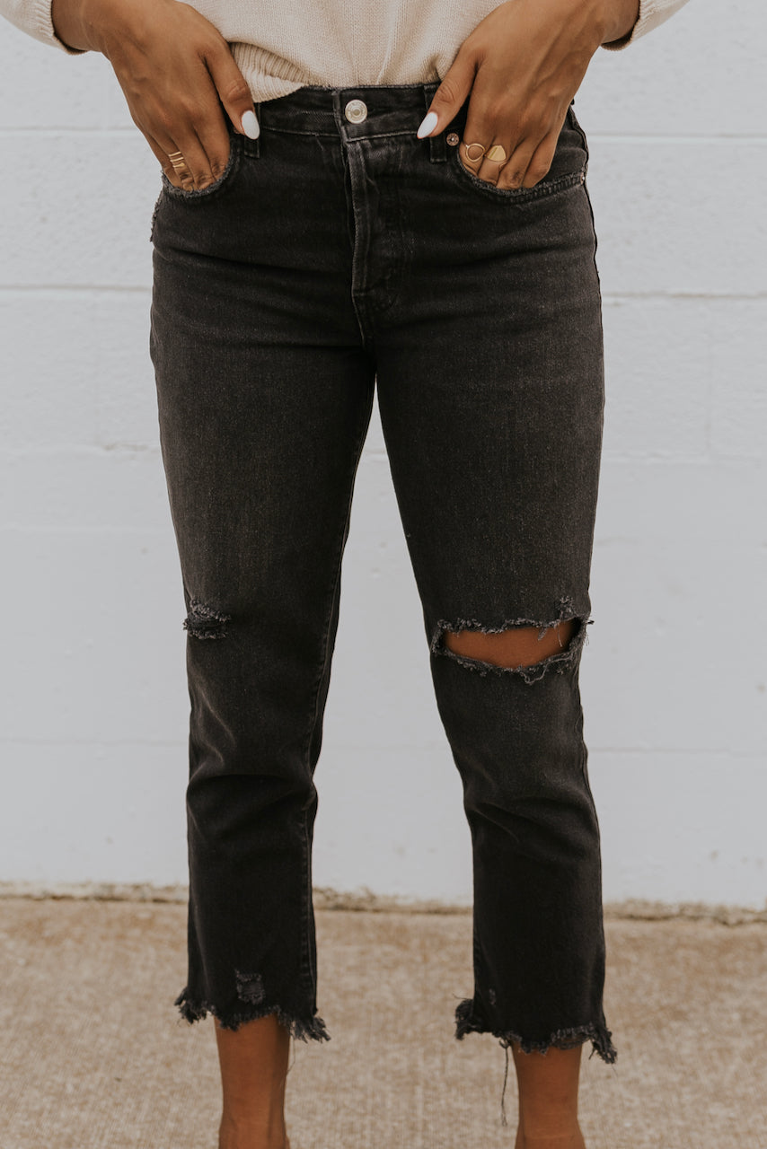 Free People Good Time Relaxed Skinny Jeans