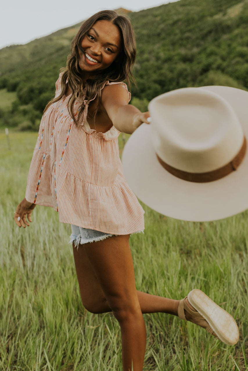 cute embroidered summer tops | ROOLEE