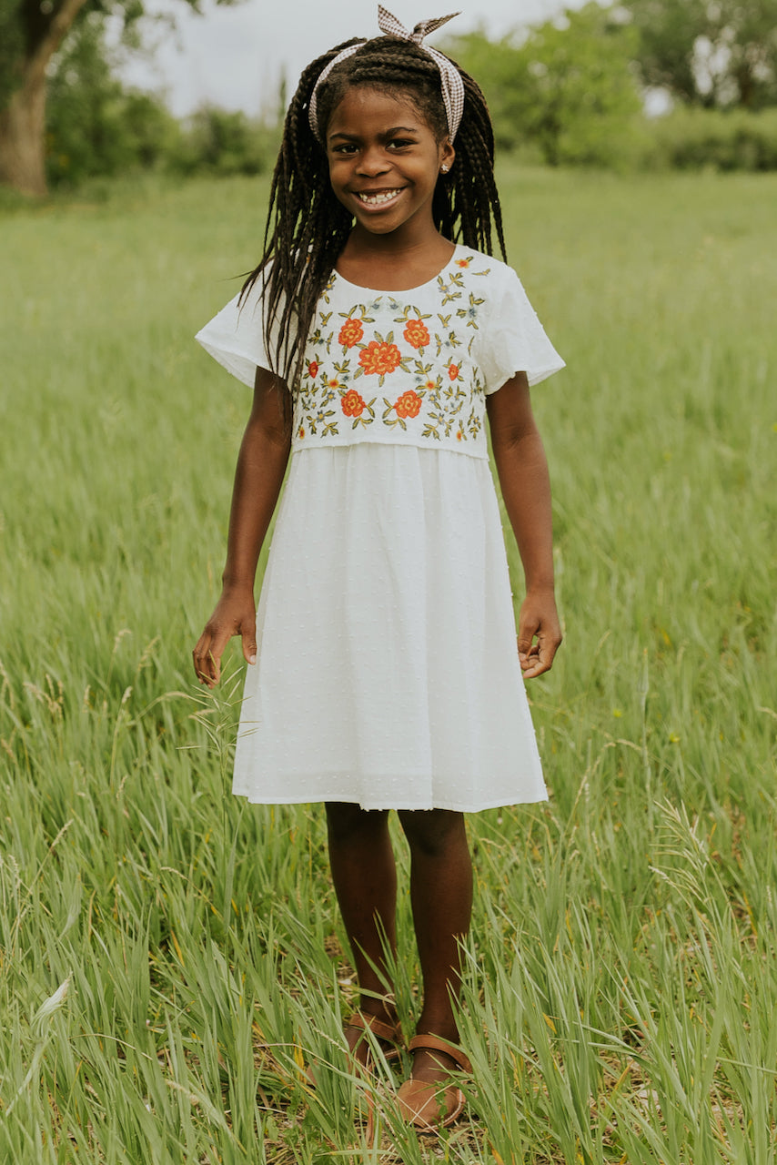 Girls Modest Summer Floral Dresses | ROOLEE