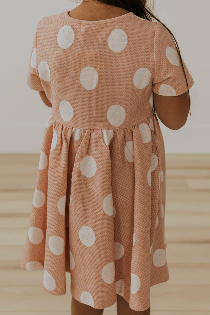Pink Short Sleeve Dresses for Girls | ROOLEE