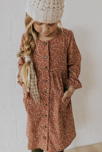 Girls floral dress | ROOLEE
