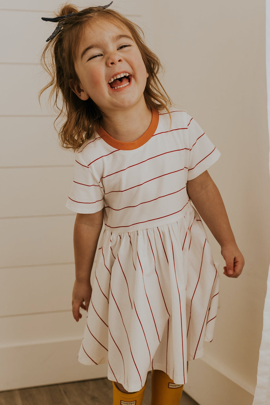 Cute stripe girls dresses | ROOLEE