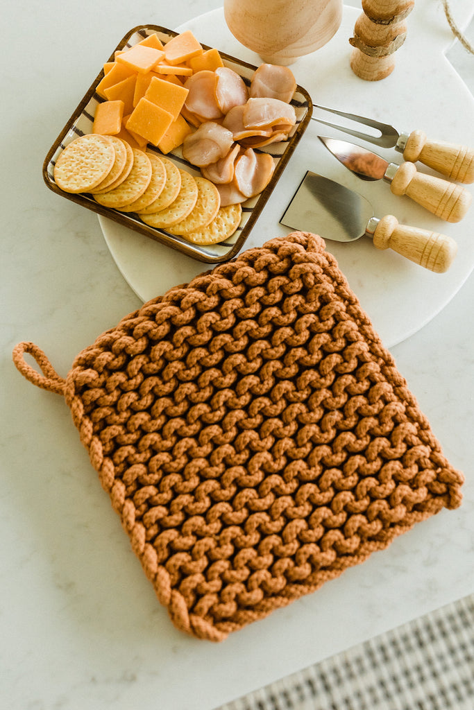 Forte Crochet Hot Pad Set