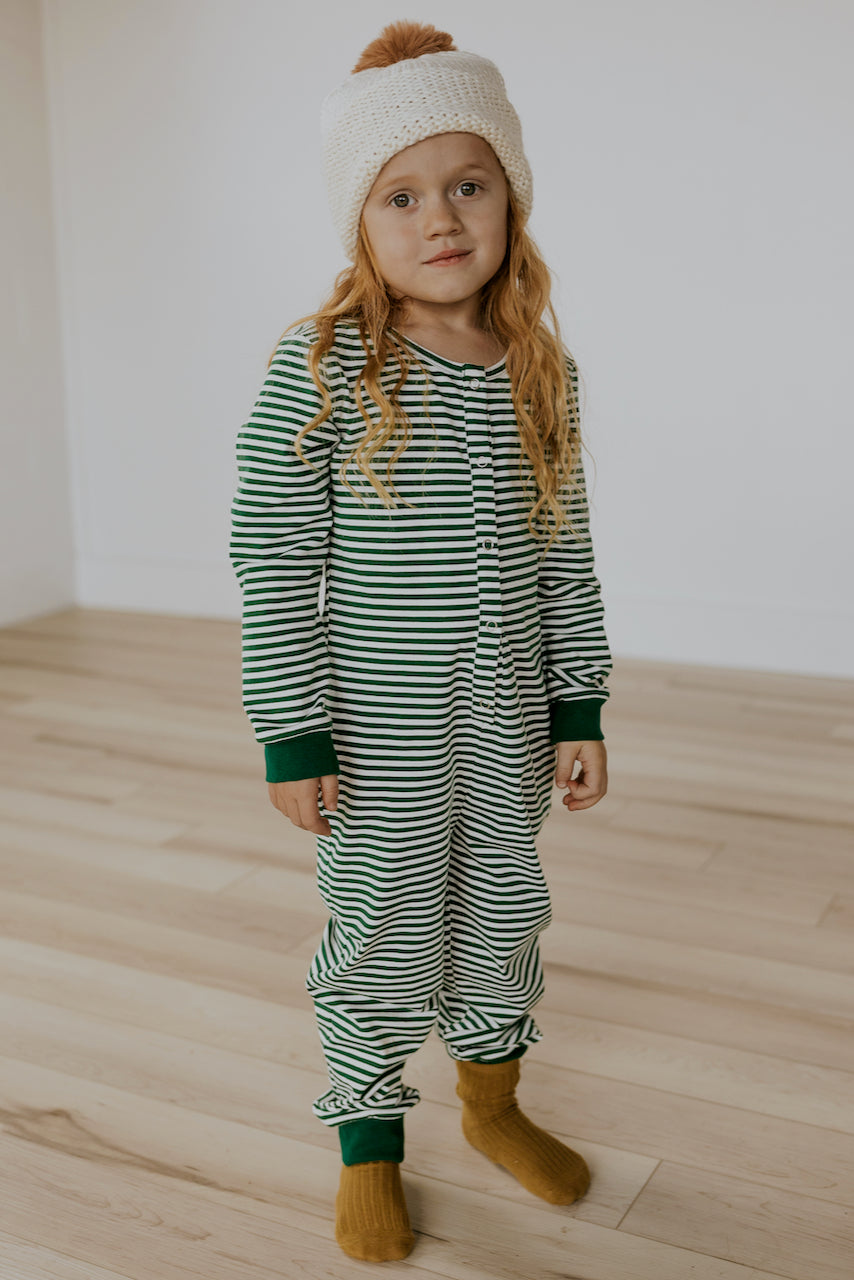 Mini McCallister Stripe Onesie