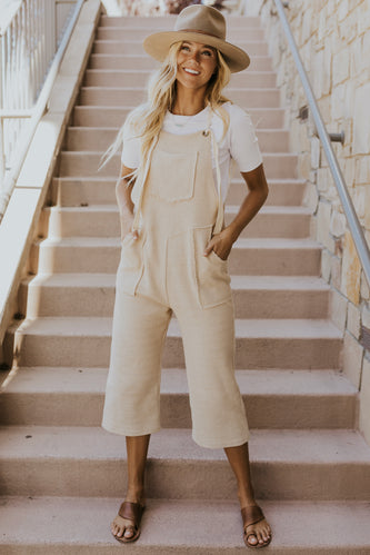 Neutral overalls for fall | ROOLEE