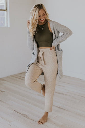 Cute green athleisure top | ROOLEE