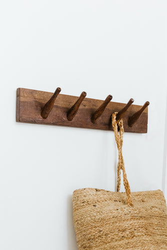 Cute Wooden Coat Hooks | ROOLEE