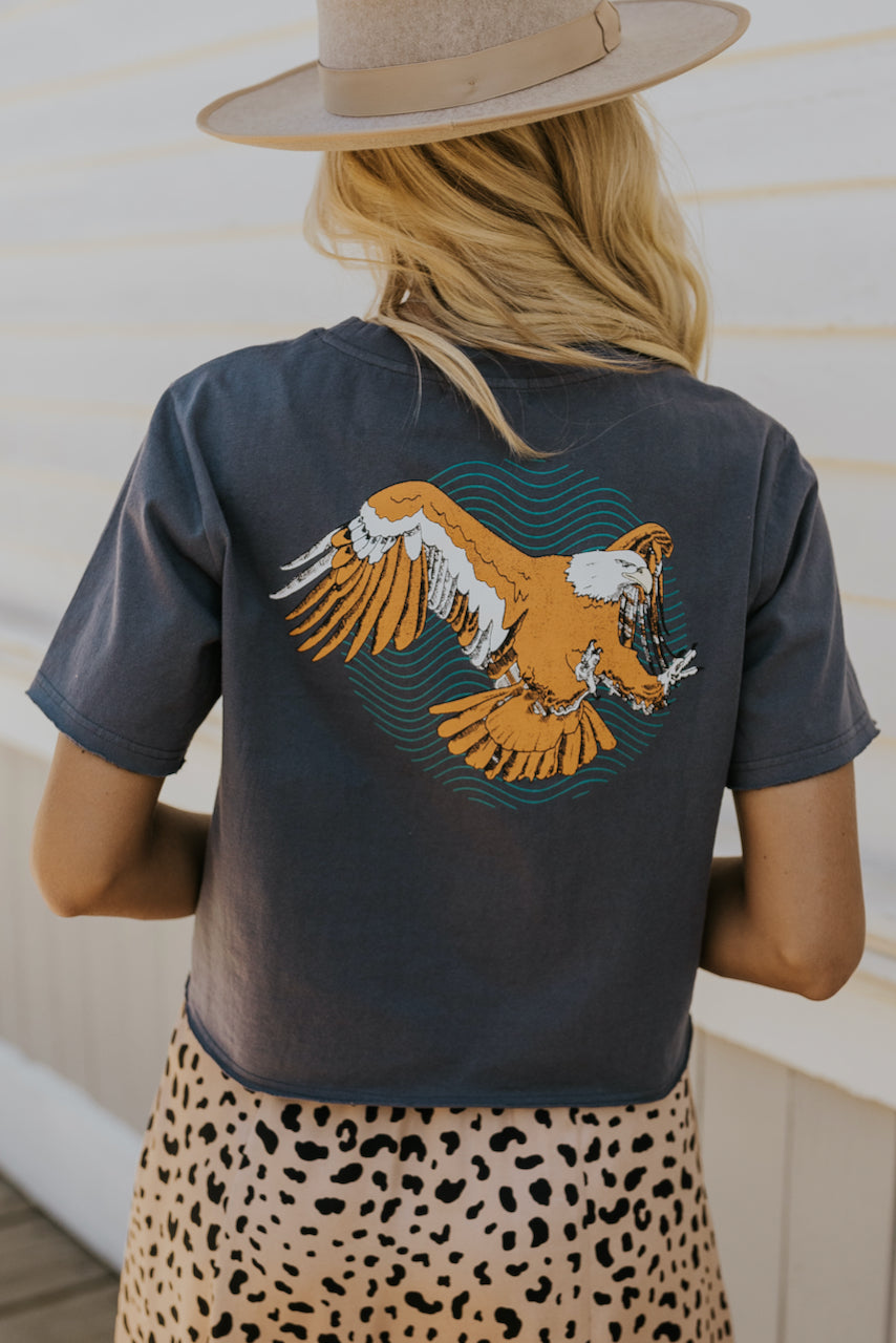 Eagle graphic tee | ROOLEE