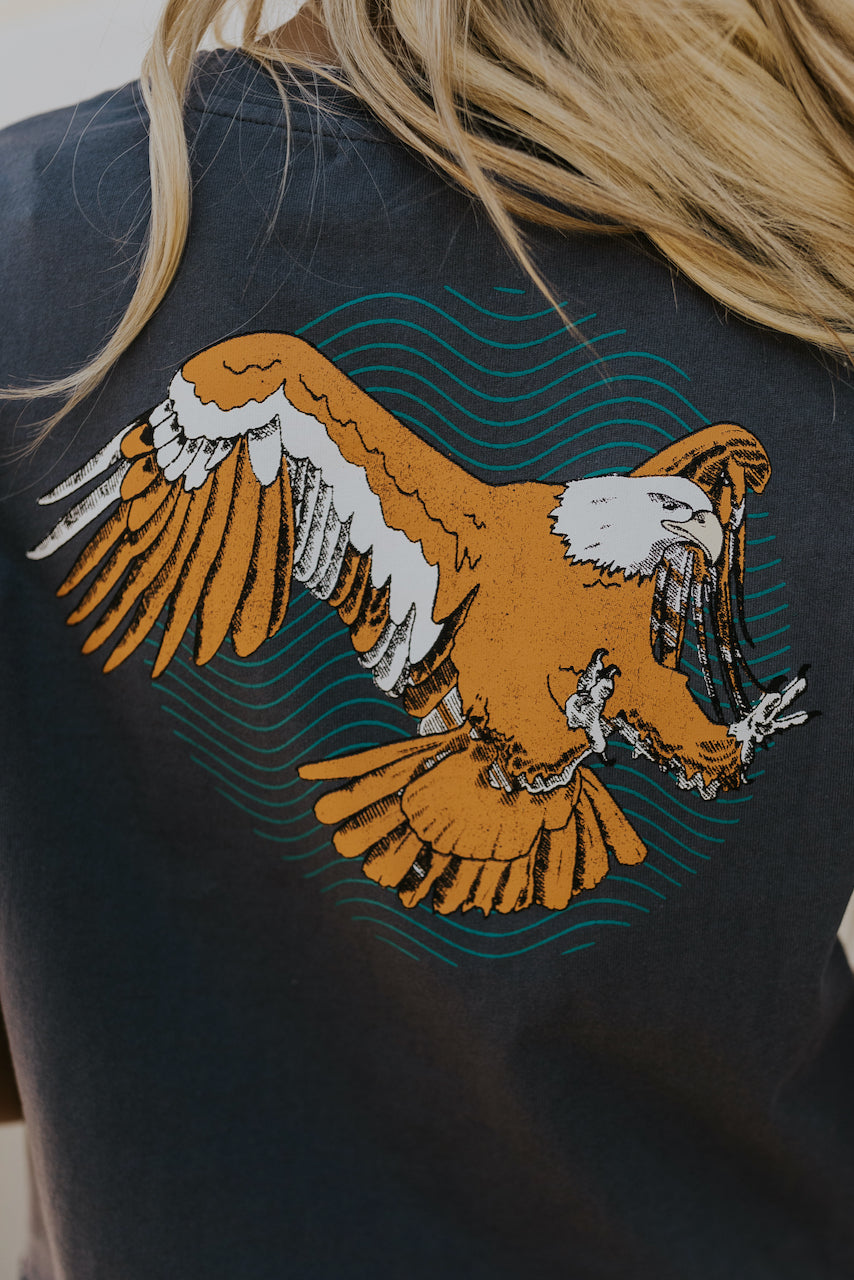 women's eagle graphic tee | ROOLEE