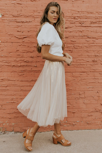Summer Nights Midi Skirt