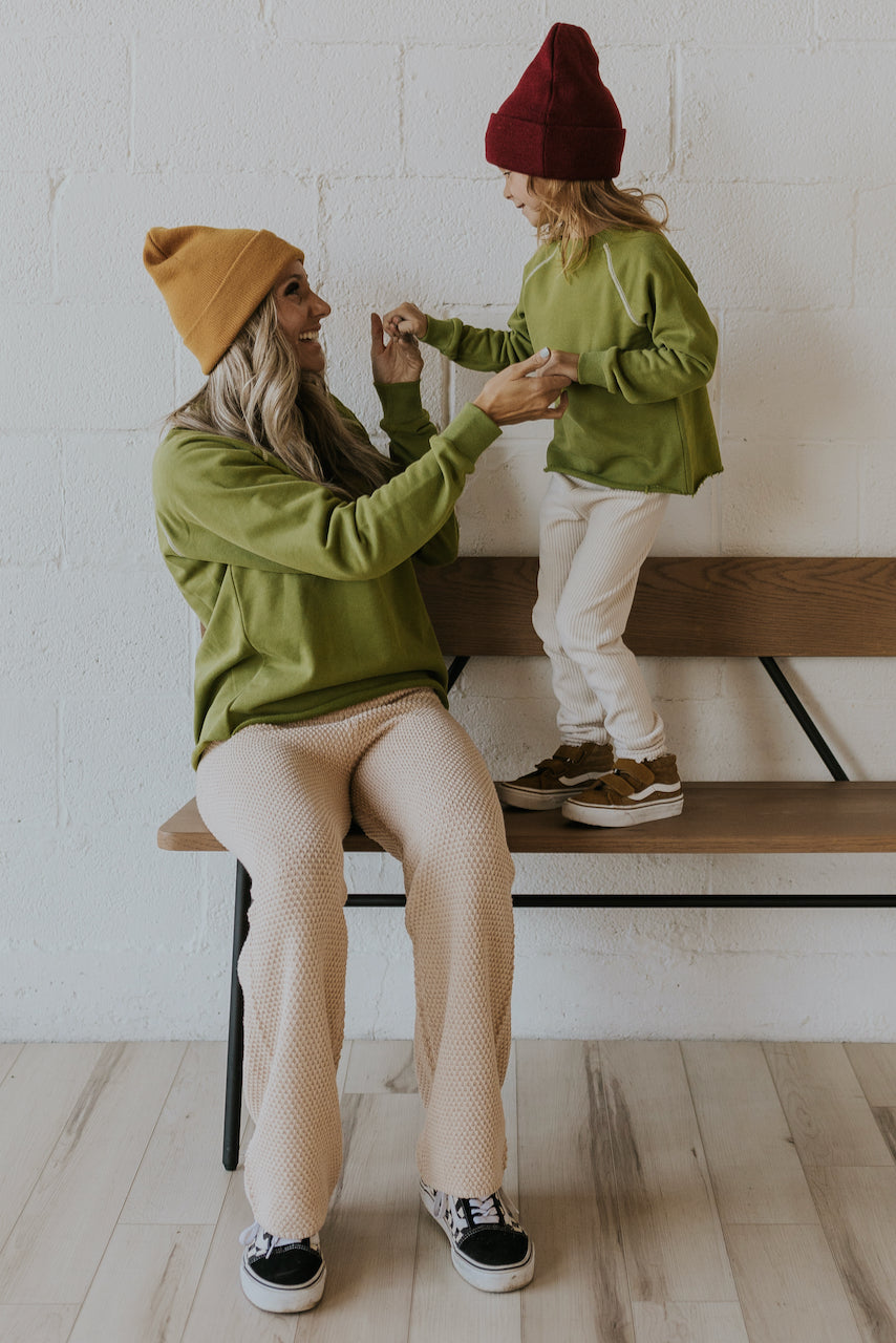 Mommy and me matching sweaters | ROOLEE