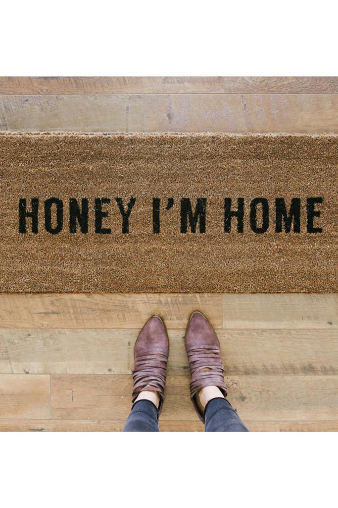 Honey I'm Home Doormat