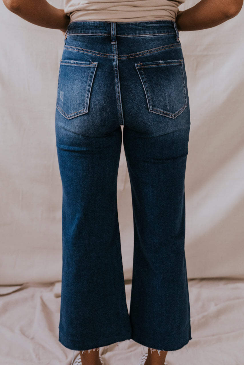 High Rise Wide Legs Jeans | ROOLEE
