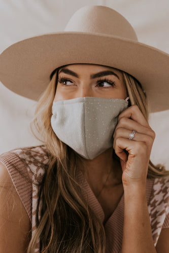 Women's Remnant Fabric Face Mask