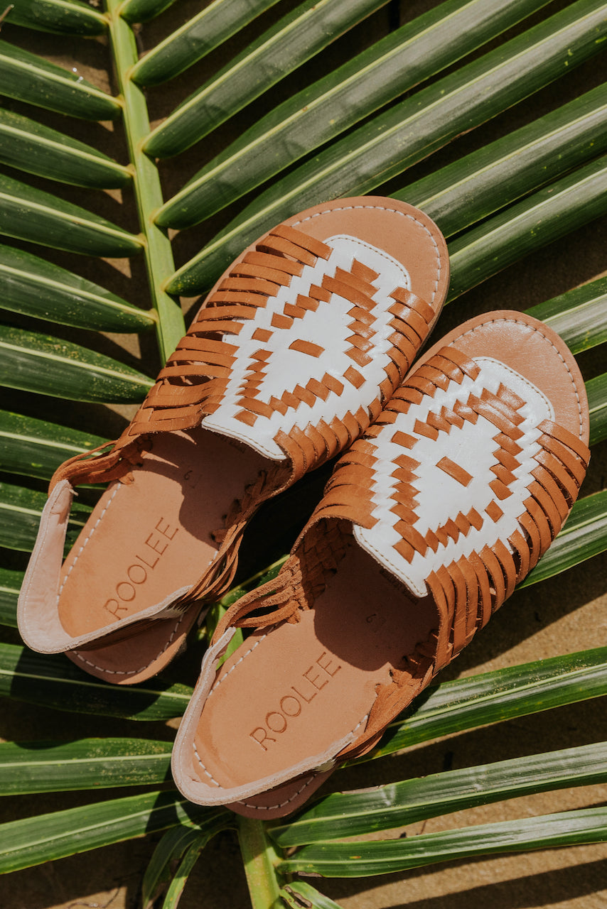 Genuine Leather Sandals | ROOLEE
