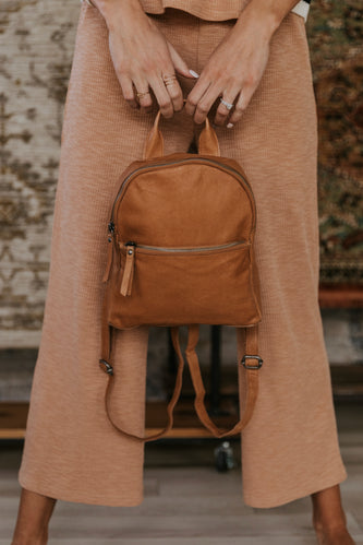 Gregg Leather Backpack