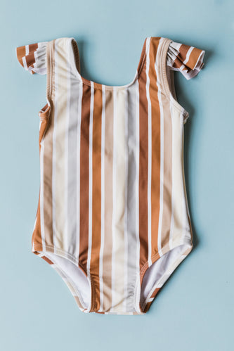 Striped Swim Suit | ROOLEE
