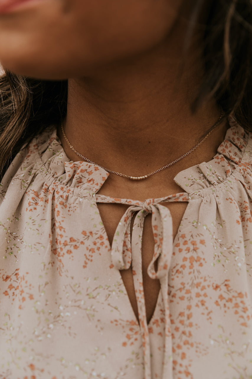 Simple Gold Necklaces | ROOLEE