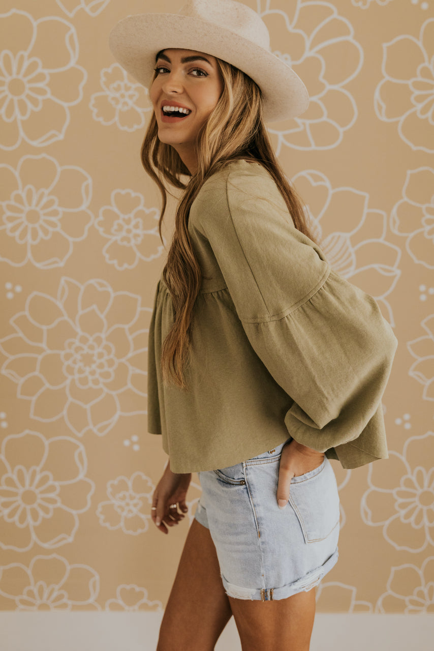 Long Sleeve Blouse | ROOLEE