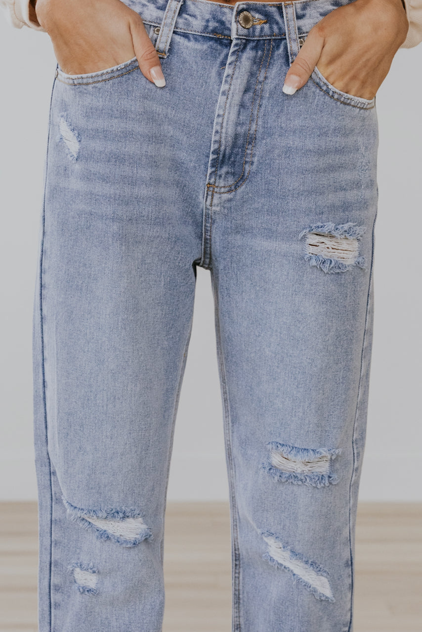 High Rise Jeans | ROOLEE