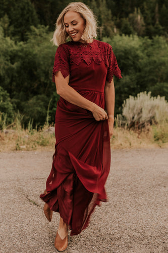 Burgundy Bridesmaid Dress | ROOLEE