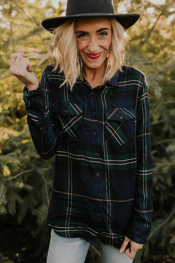 The Aiden Flannel | ROOLEE