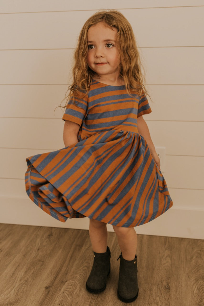Janel Stripe Dress