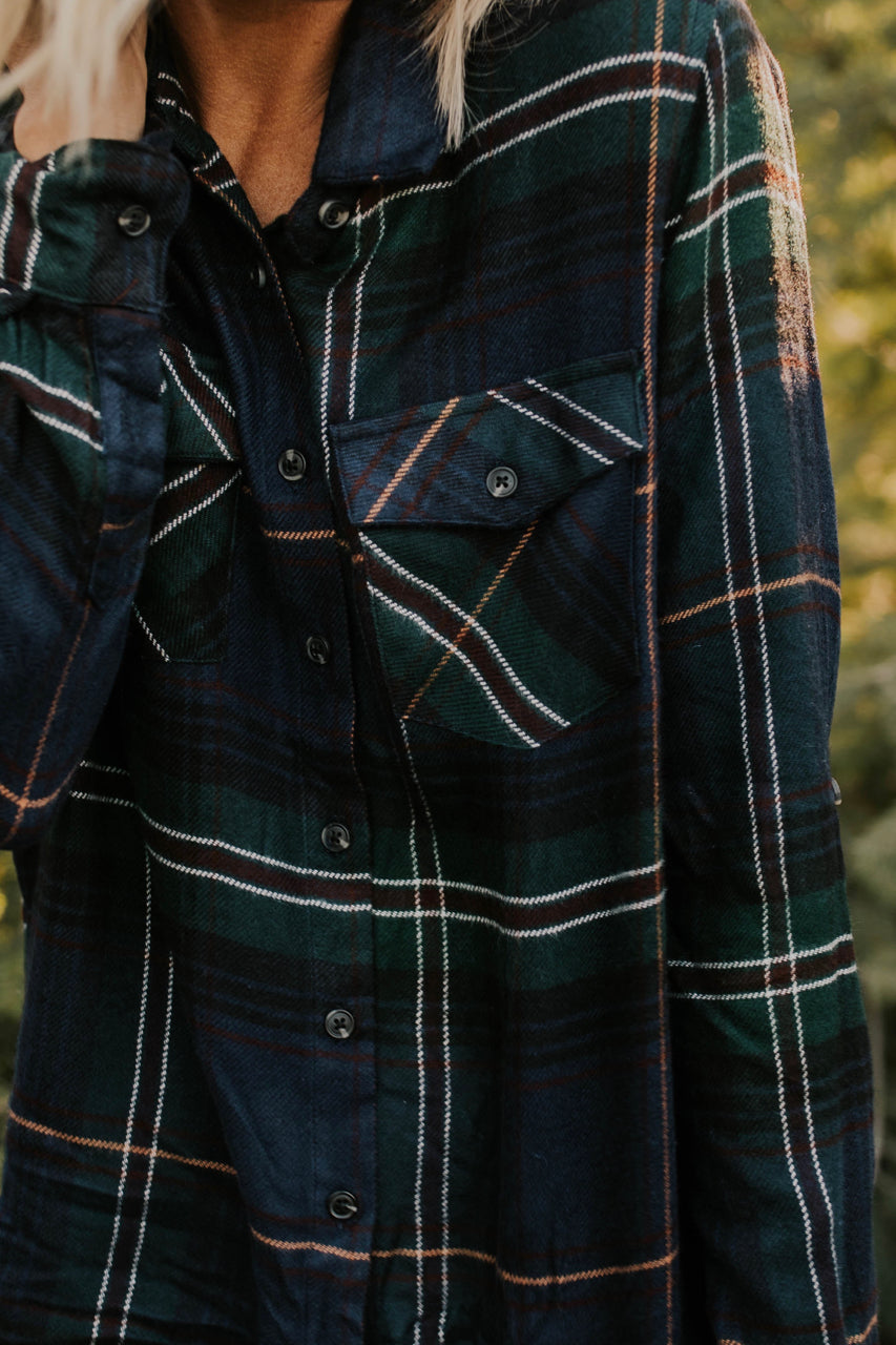 Navy Flannels for Women | ROOLEE