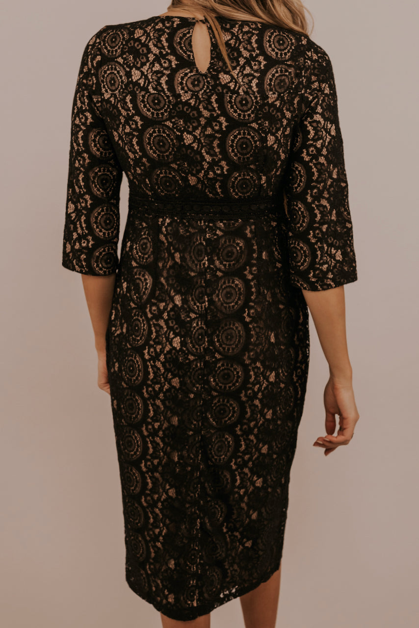 Empire Waist Lace Dresses | ROOLEE