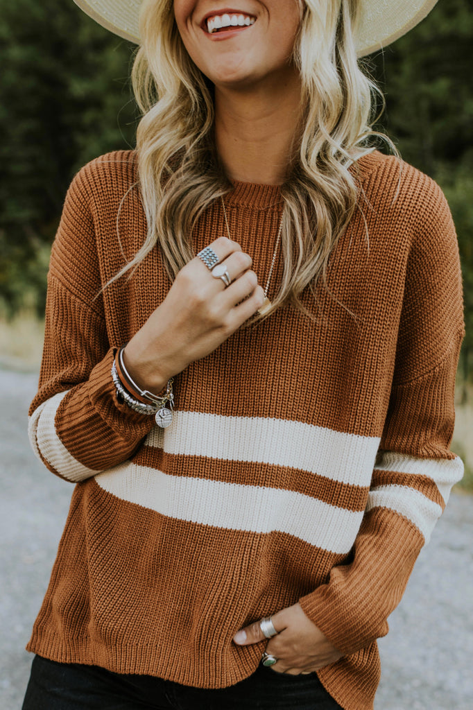 Maplewood Knit Sweater | ROOLEE