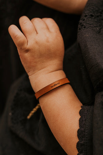 Mini Sisters Leather Bracelet