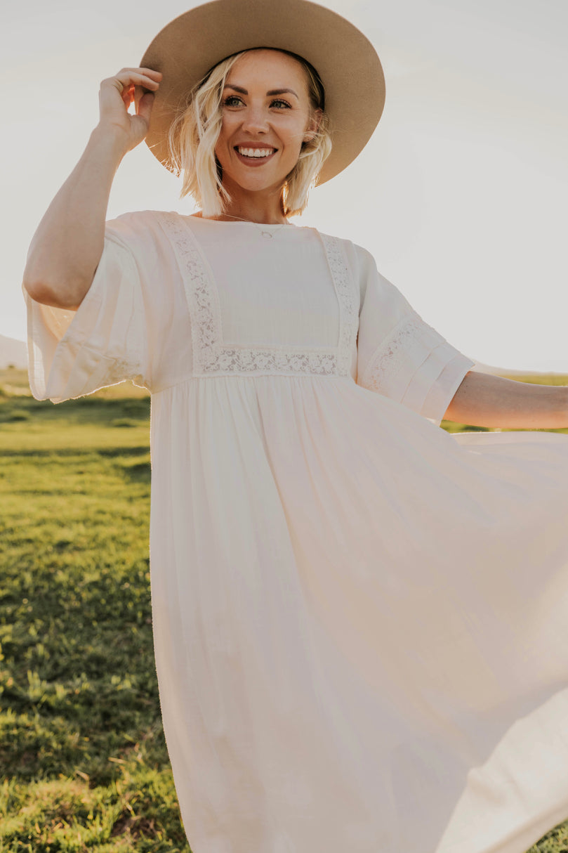 Bat Sleeve Dress | ROOLEE