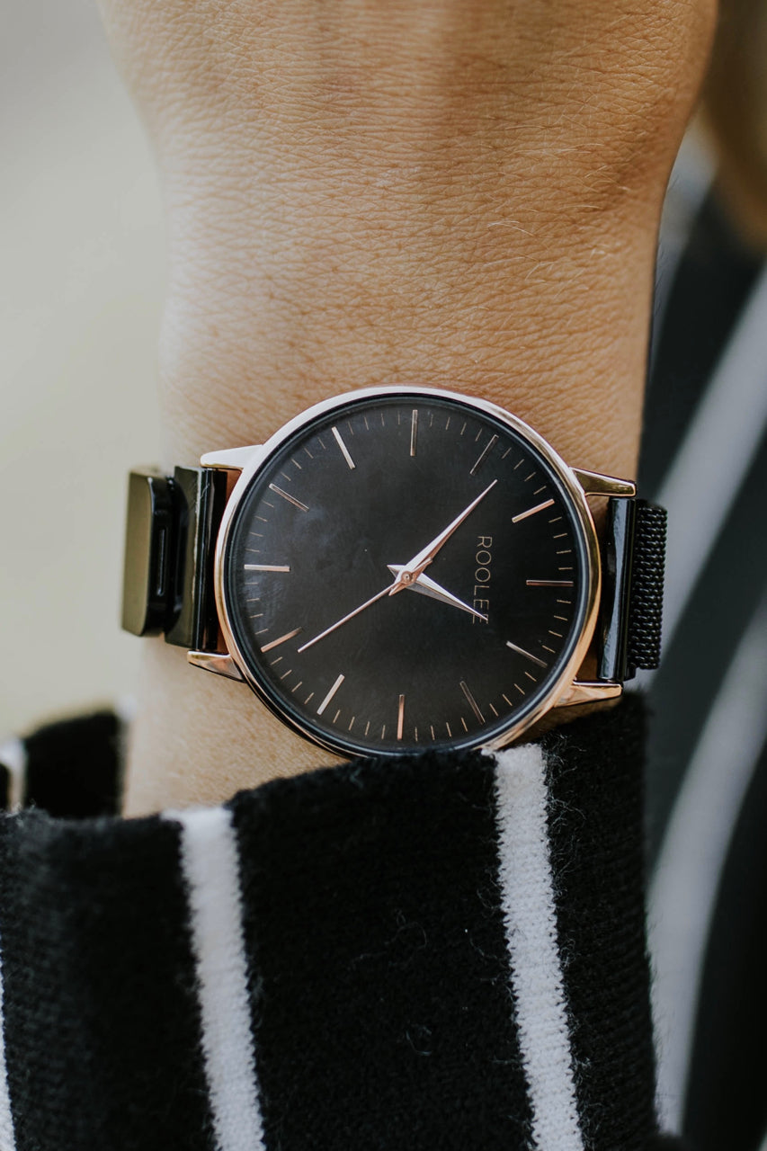 Simple Mesh Watch Accessory For Women | ROOLEE Watches