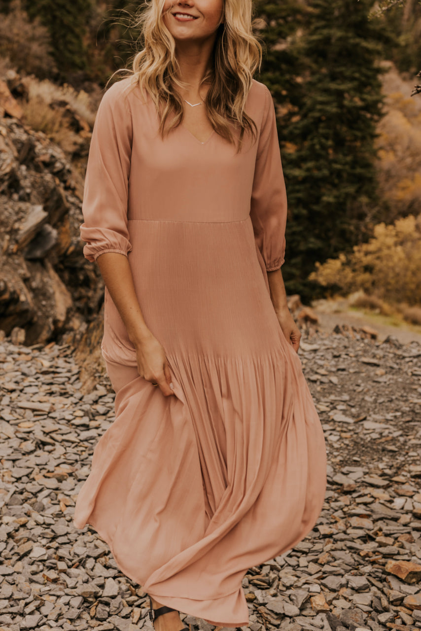 Blush Maxi Dress | ROOLEE
