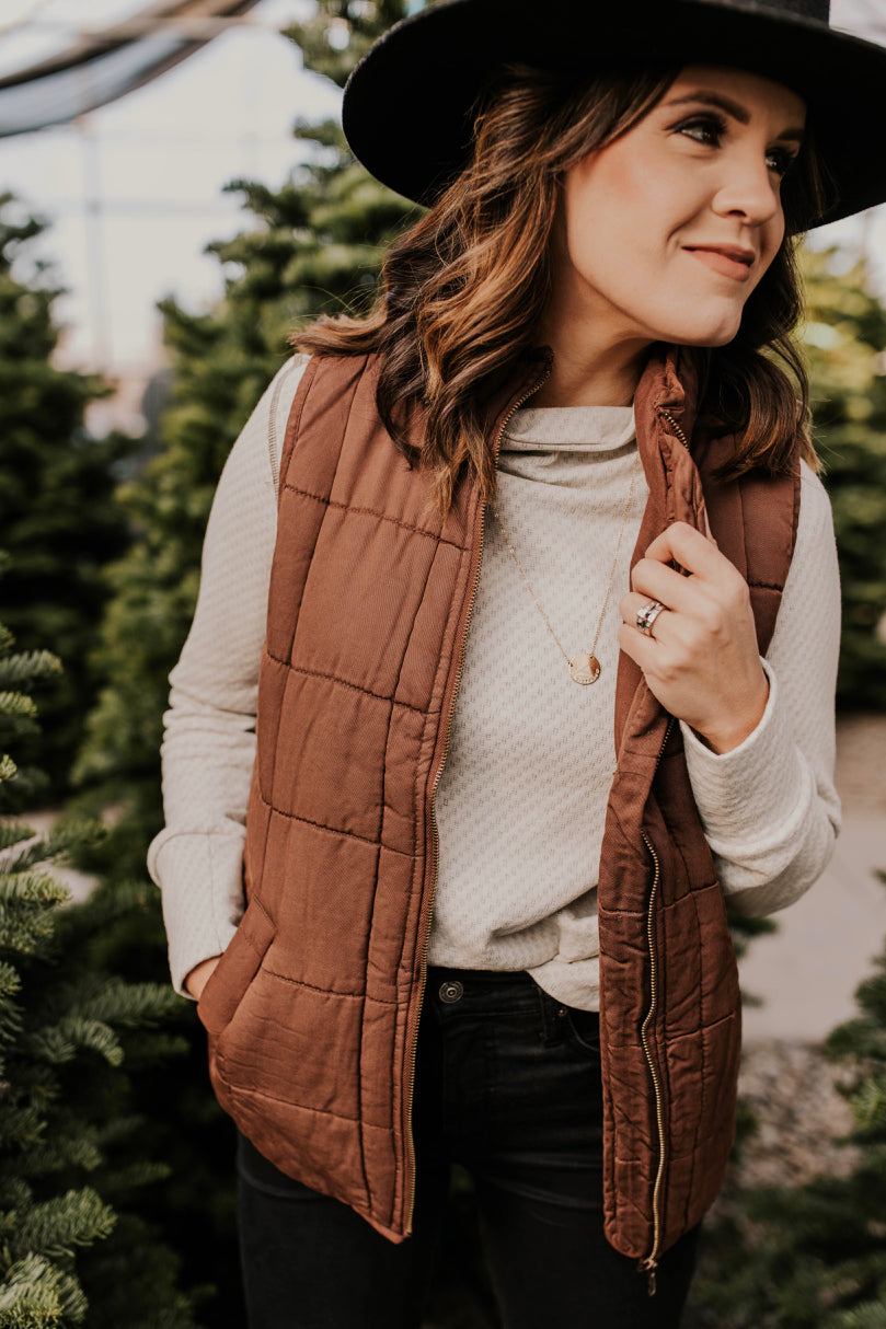 Cute winter vest | ROOLEE