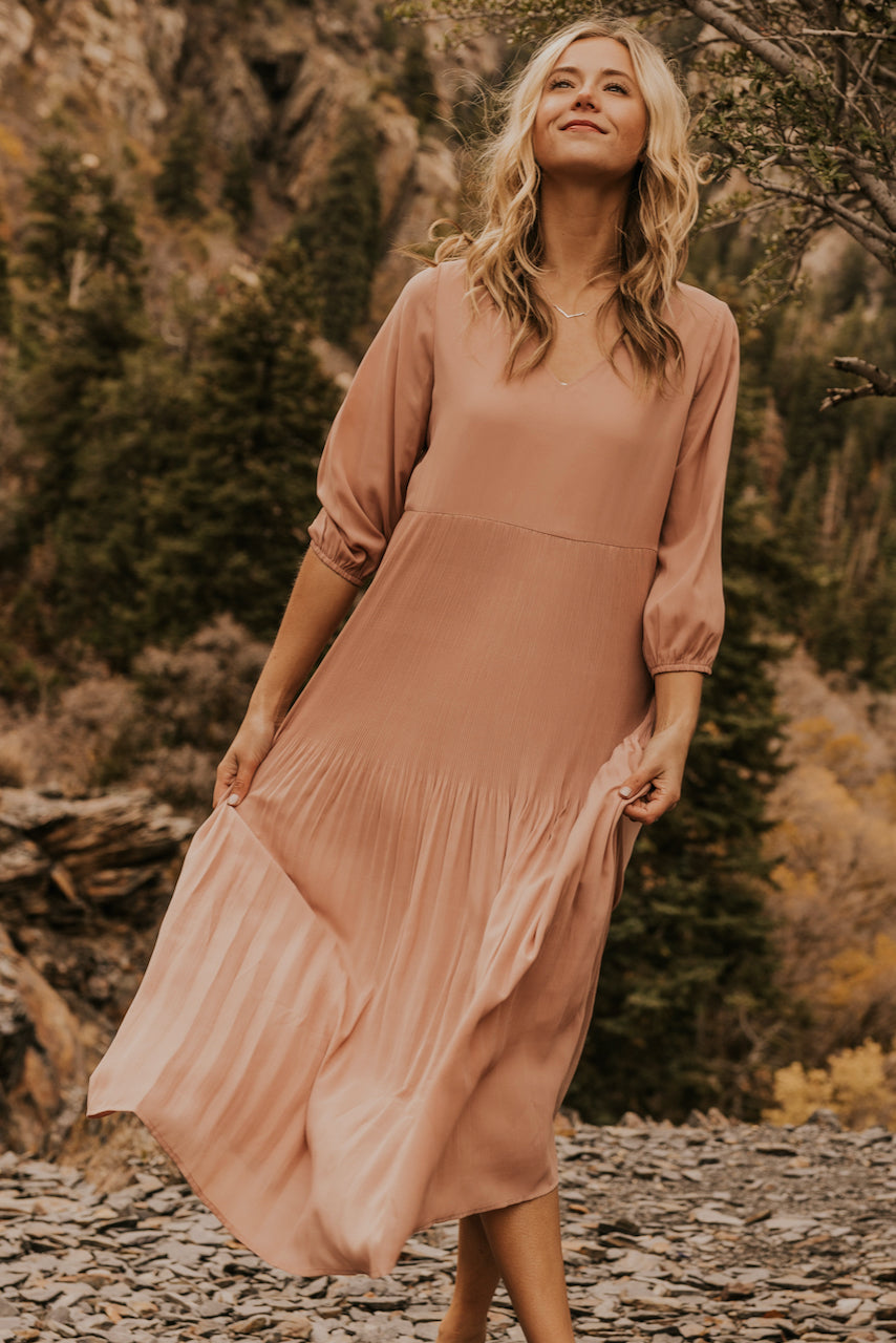 Blush Pink Bridesmaid Dresses | ROOLEE
