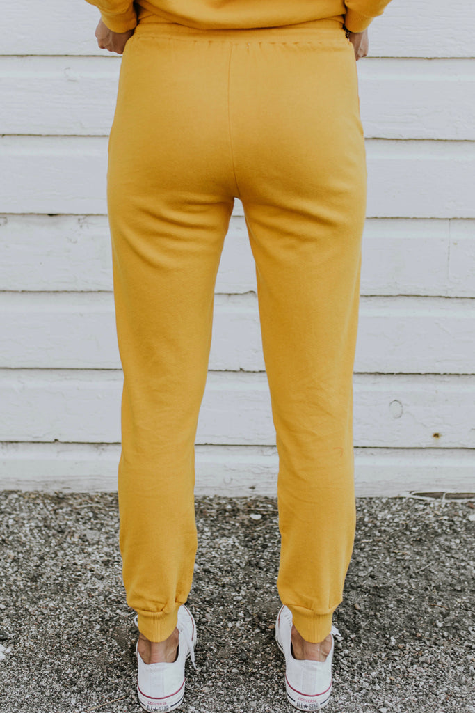 Yellow Sweatpants | ROOLEE