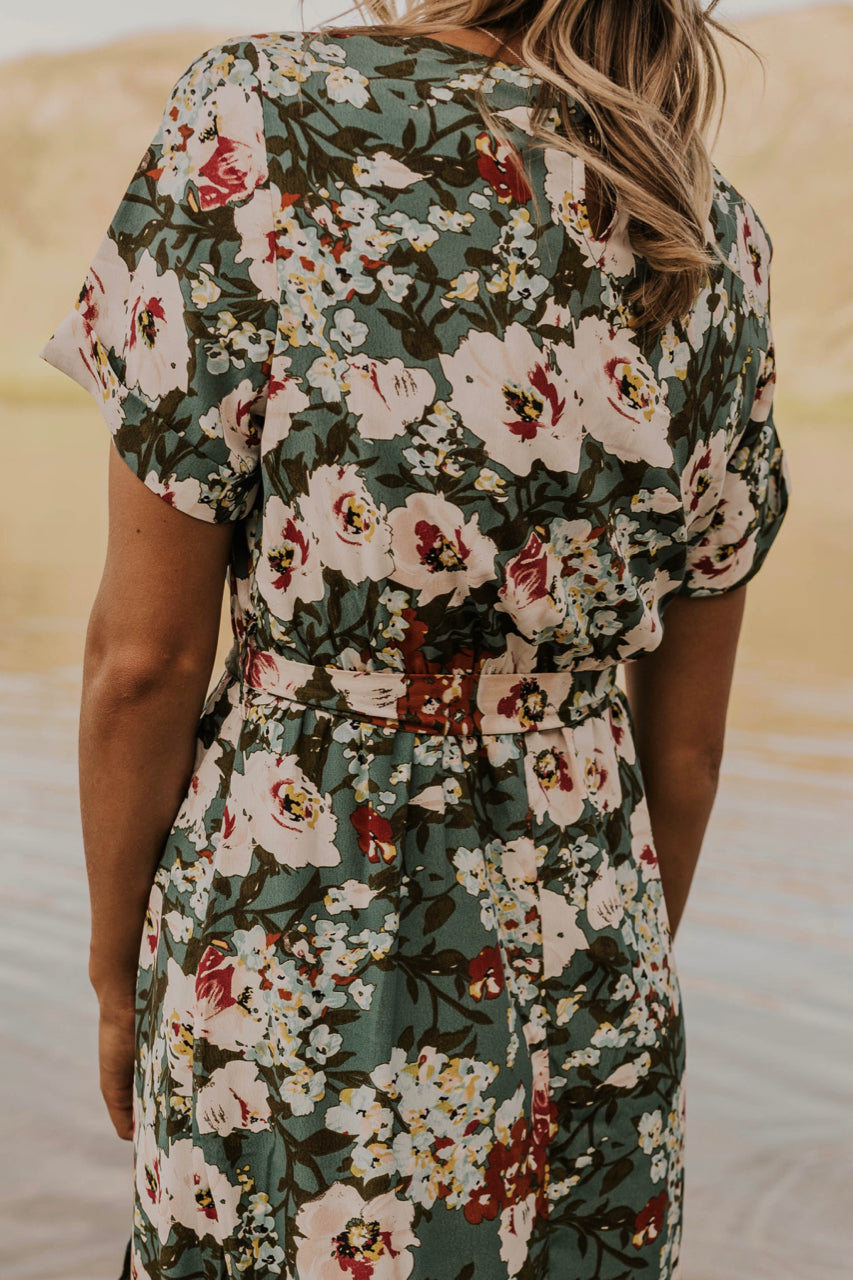 Floral Bridesmaid Dress | ROOLEE