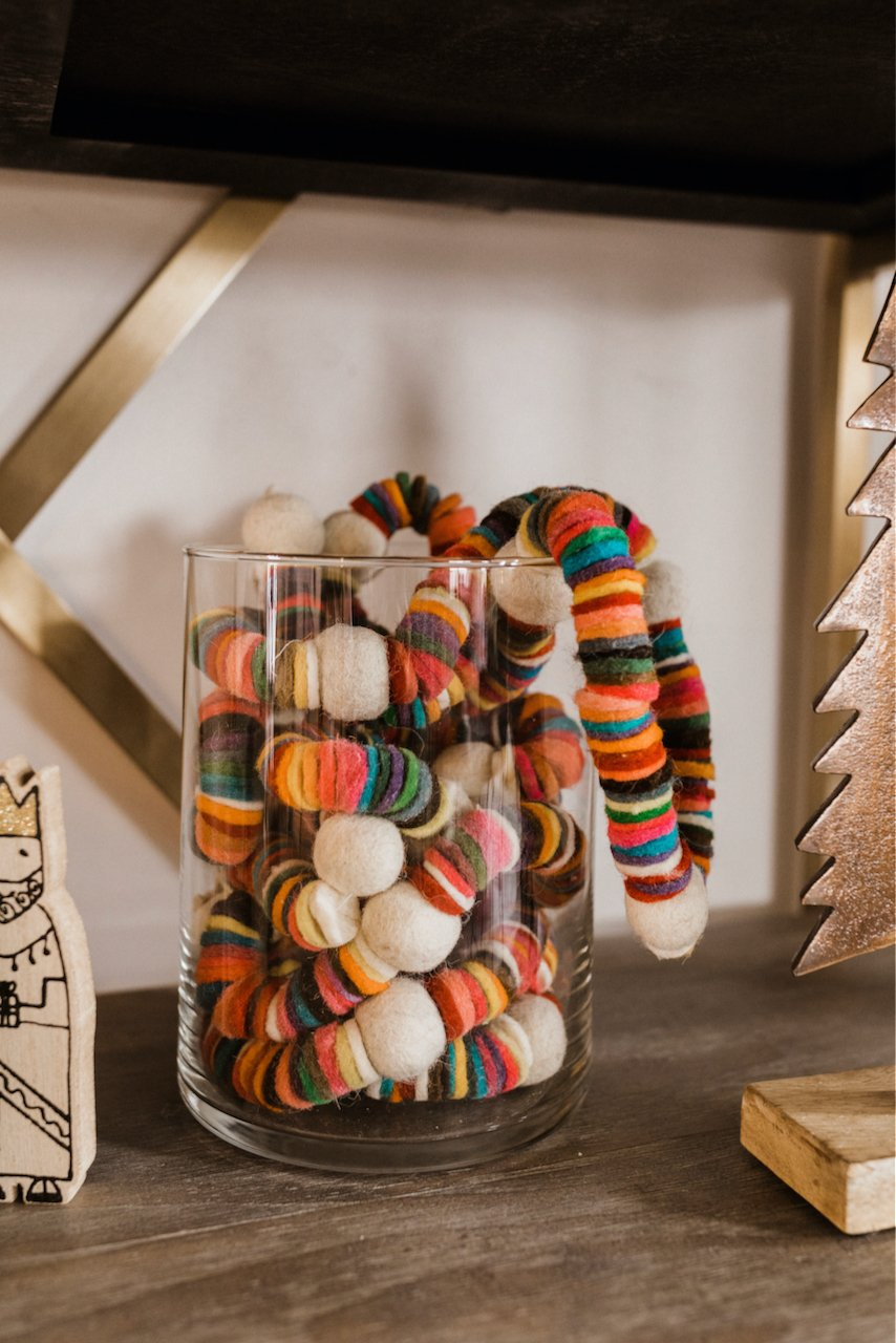 Colorful Disc Garland | ROOLEE