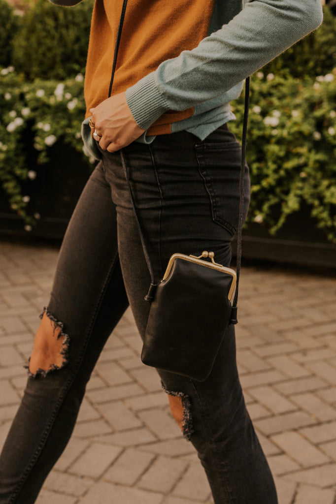 Leather Crossbody | ROOLEE