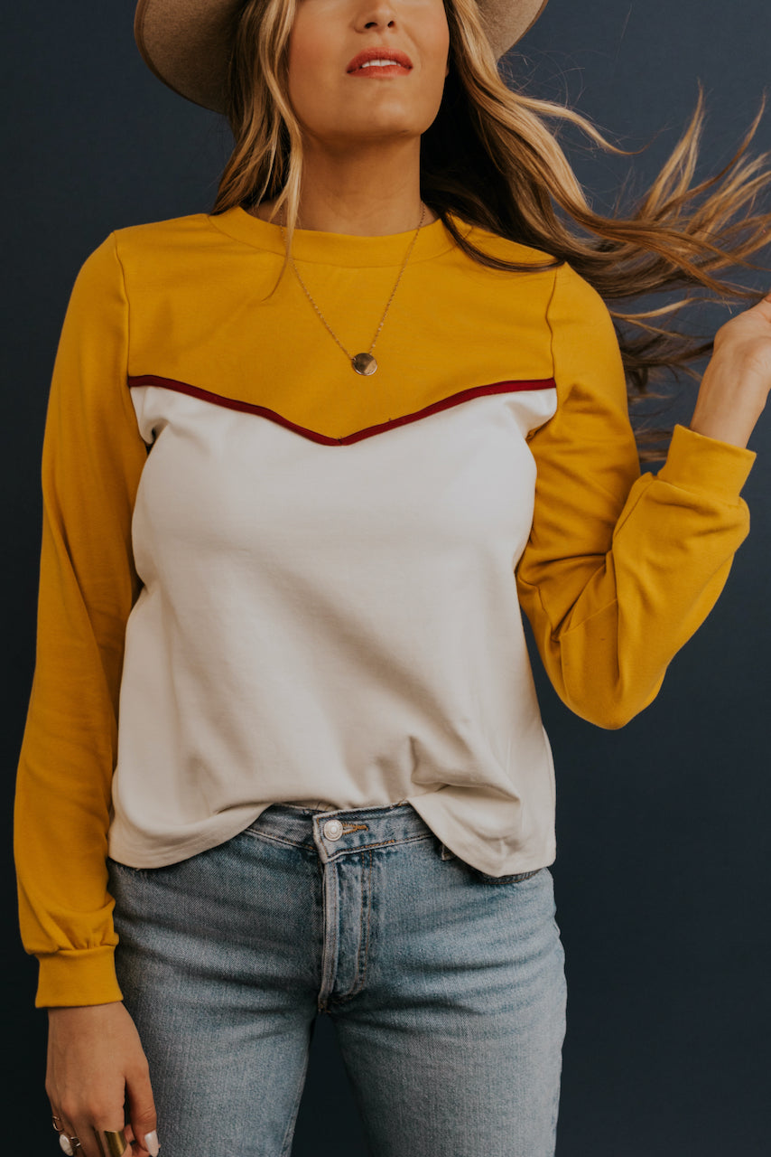 Mustard Yellow Long Sleeve | ROOLEE