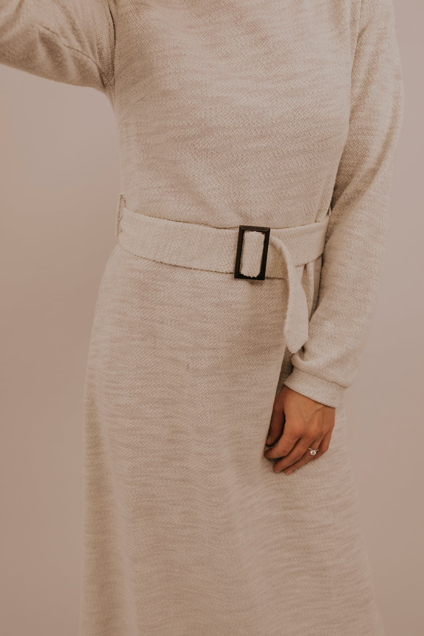 Cute Belted Maxi Dress | ROOLEE
