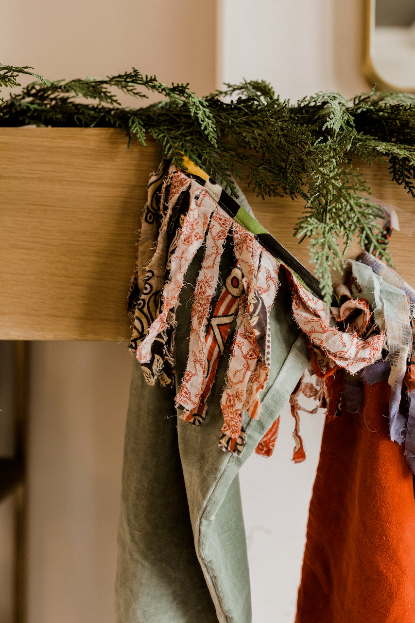 Christmas Stockings On Fireplace | ROOLEE