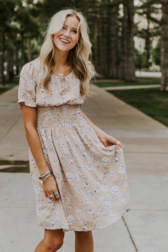 Whitnee Floral Dress | ROOLEE