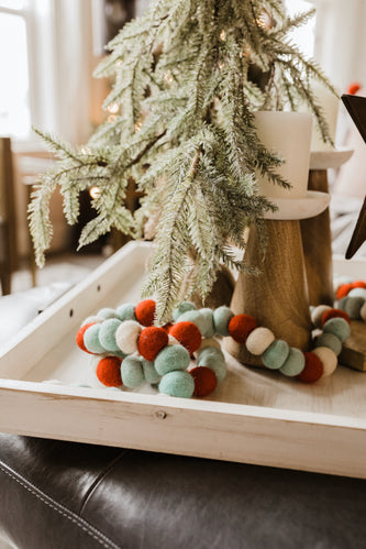 Christmas Wool Garland | ROOLEE
